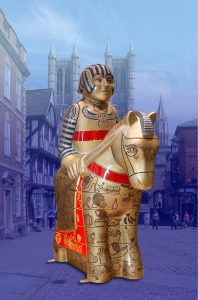 City of lincoln cathedral knight