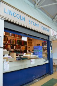 Lincoln stamp centre stall