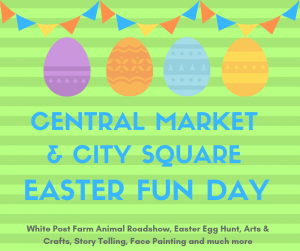 Easter fun day sign